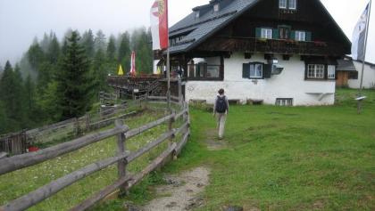 Die  Ostpreußenhütte (1628 m)