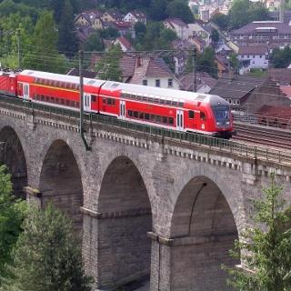 Die Schwarzwaldbahn - ein Begleiter auf der Tour