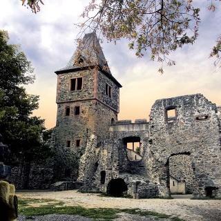 Mühltal - Burg Frankenstein