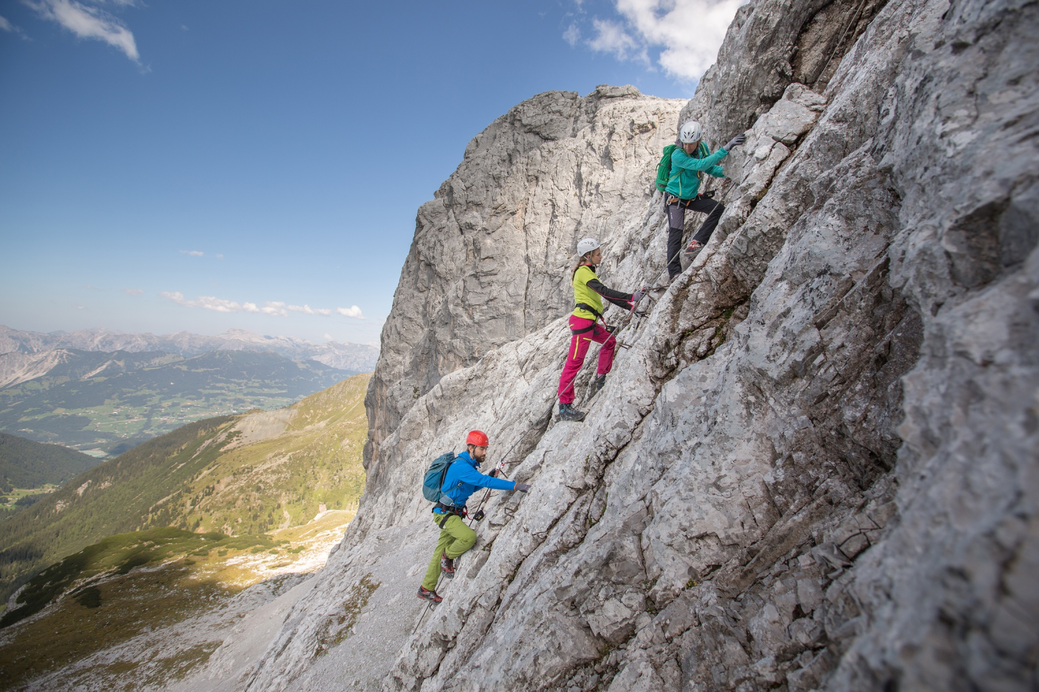 Klettersteig Netstal : Klettersteig indianer klettersteige