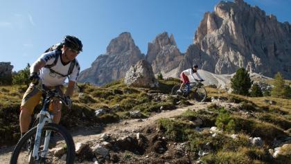 Mountainbiketouren in Gröden