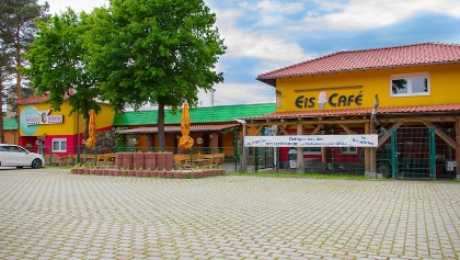 Frontansicht des Seenland Bowling & Eventhouse Hoyerswerda