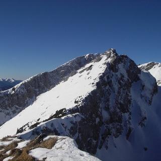 Gipfel Hochhäusl/Glaneggturm, dahinter Stadelfeldschneid