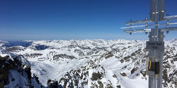 Vom Gipfel Richtung Bodensee