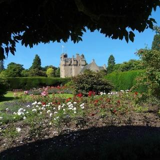 Die Gärten von Crathes Castle