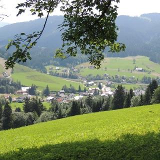 Blick nach Russbach
