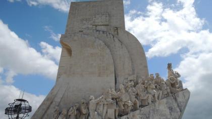 Das Entdeckermonument in Belém