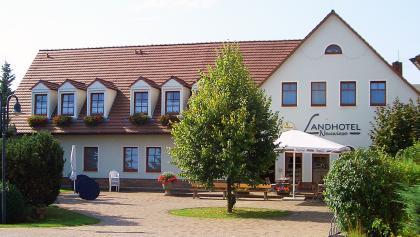 Frontansicht des Landhotel Neuwiese