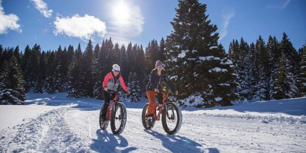 Fat Bike sull'Alpe Cimbra