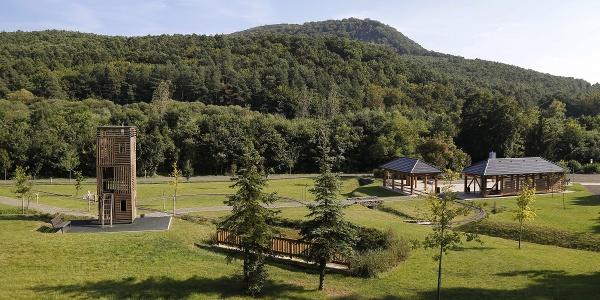 Turistické centrum a lesná škola v Katalinpuszta