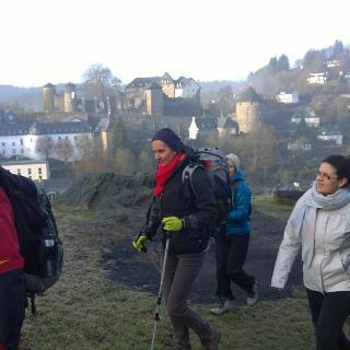 Die Gruppe oberhalb Monschau
