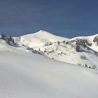Blaseneck - Gipfel Bildmitte