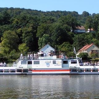Schiff der Flotte Weser in Hameln