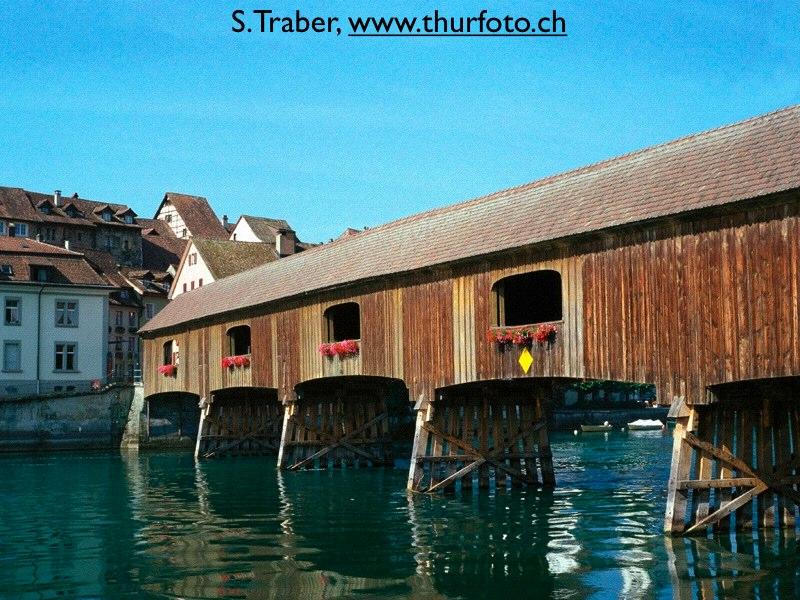 Holzbrücke Diessenhofen - Gailingen