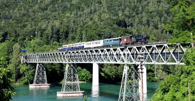 Eisenbahnbrücke aus dem Jahr1875