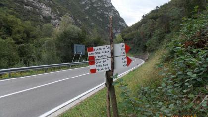 Start: Richtung Bocca da Le Weg Nr. 429