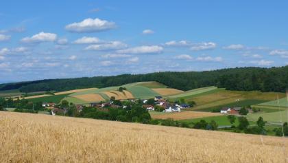 Blick ins Sulzbachtal bei Johanniskirchen