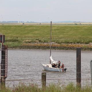 Segelboot Ostesperrwerk