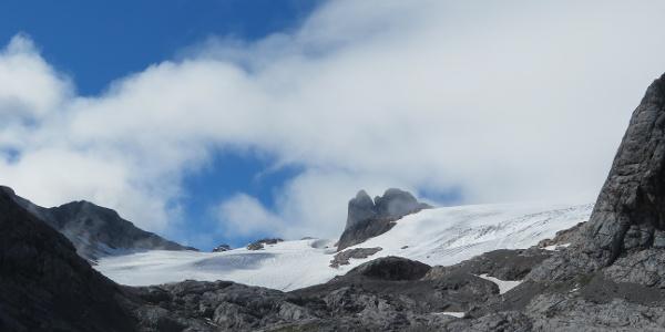 Tag 1: Blick zum Hallstätter Gletscher