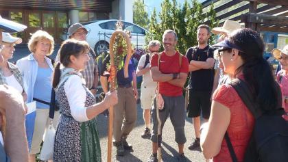 Pilgergruppe - Auf dem Weg der Begegnungen