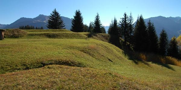 Kulturdenkmal Knappagruaba, Haldenlandschaft
