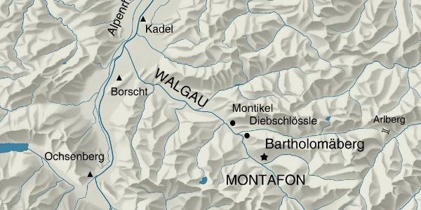 Siedlungsraum Fundorte