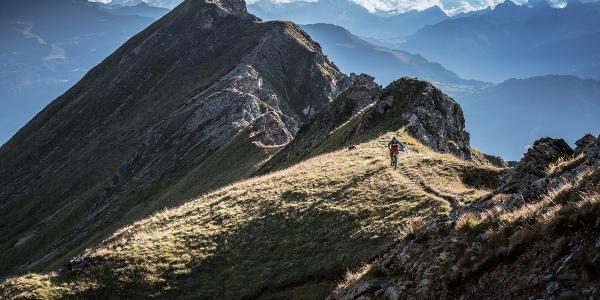 Mountainbiken auf der Lenzerheide