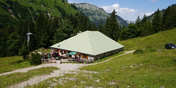 Die Bärgündele-Alpe
