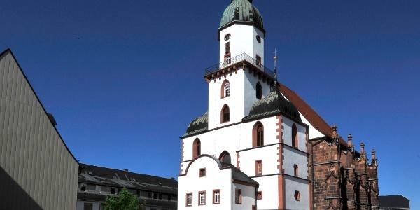 St. Kunigunden Kirche in Rochlitz