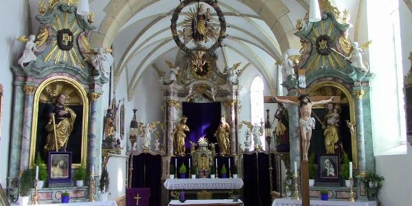 St. Jakob Kirche in Tuins