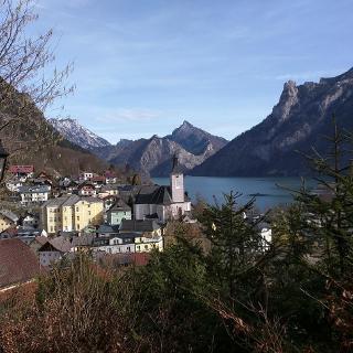 Ebensee vom Kalvarienbergweg