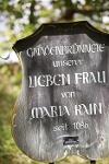 Schild am Brunnen bei Maria Rain im Wertachtal   - © Quelle: Nesselwang Marketing GmbH