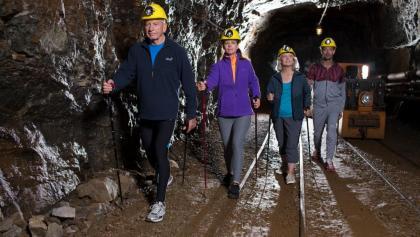 Nordic Walking im Bergwerk