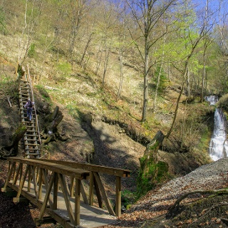 Schleifbach Wasserfälle