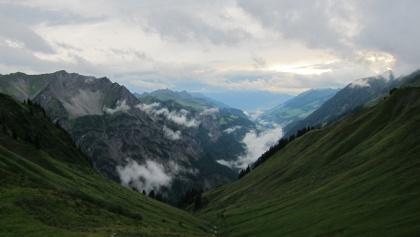 Bei der Biberacher Hütte (19. August 2013)