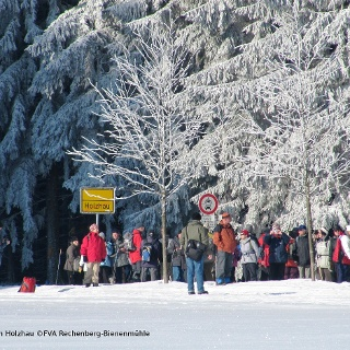 Winterwandern in Holzhau