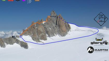 Cosmique Grat - Topo Grantigrat Mont Blanc - Chamonix