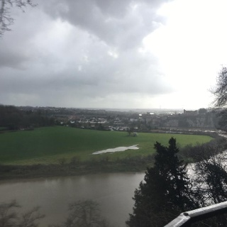 View over valley and chepstow