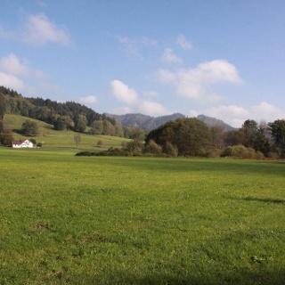 Landschaft kurz vor Großholzleute