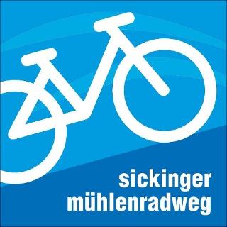 Logo Sickinger Mühlenradweg