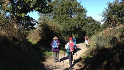 Der Pilgerweg durch Palas de Rei lässt Wandererherzen höher schlagen.
