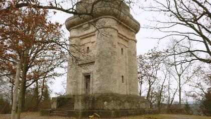Der Bismarckturm in Tübingen