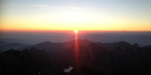 Säntis Sonnenaufgang