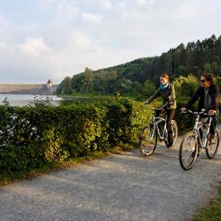 Radfahren am Möhensee