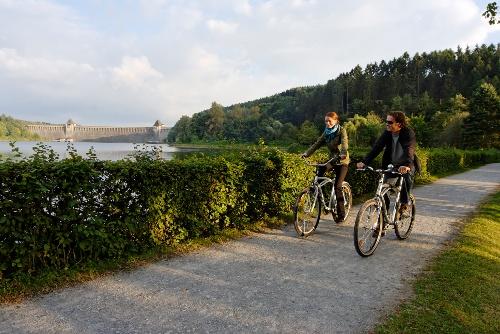 Kulinarische Radtour am Möhnesee