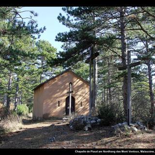 Chapelle de Piaud am Nordhang des Mont Ventoux