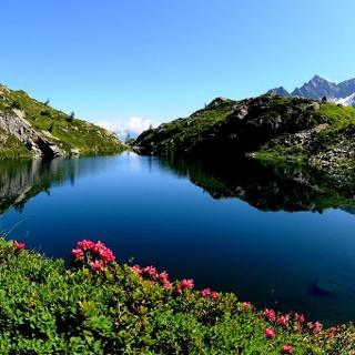 Lago Denza e Vedretta della Presanella