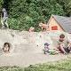 Spielewand am HöhlenHaus - Stadt Giengen