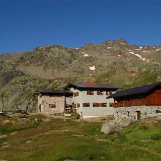 Schutzhütte Saènt «S. Dorigoni»