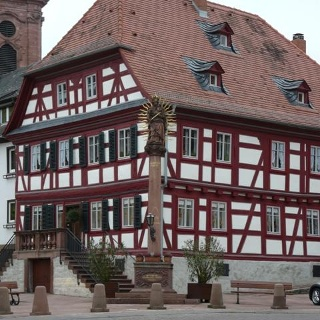 Marktplatz in Amorbach